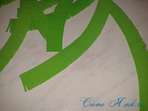 маленькая ёлочка из фоамирана фома своими руками 12 (Copy)