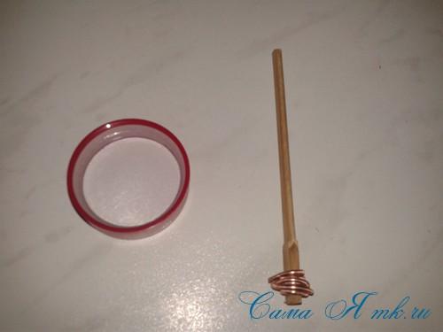маленькая ёлочка из фоамирана фома своими руками 2 (Copy)