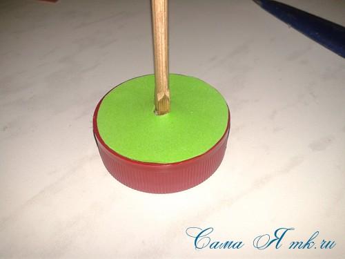 маленькая ёлочка из фоамирана фома своими руками 5 (Copy)
