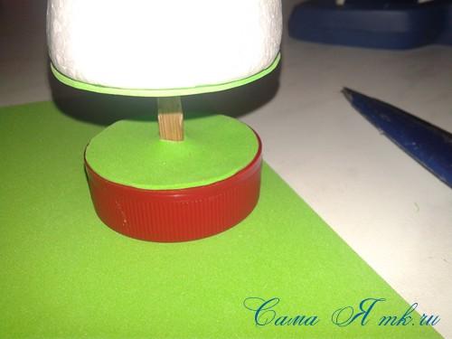маленькая ёлочка из фоамирана фома своими руками 8 (Copy)