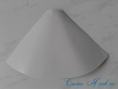 ёлочка из пряжи из воздушных петель крючком 5 (Copy)