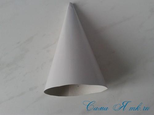 ёлочка из пряжи из воздушных петель крючком 6 (Copy)
