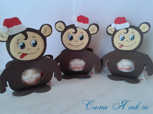 обезьянка из фрамирана