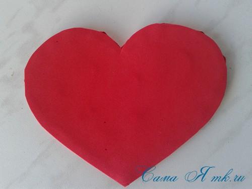 сердечки из атласных лент ко дню святого валентина своими руками 21