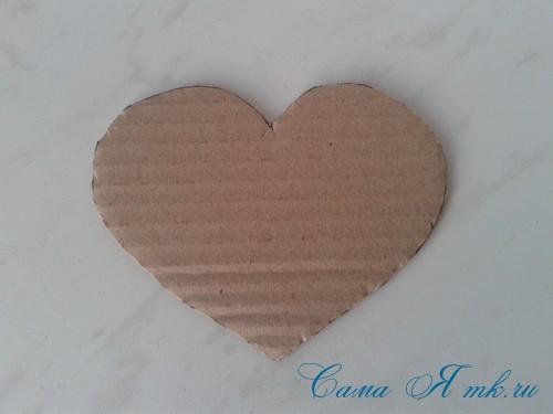 сердечки из атласных лент ко дню святого валентина своими руками 3