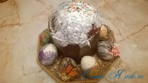 декупаж украшение пасхальных яиц вместе с детьми подручными материалами 9 (2)