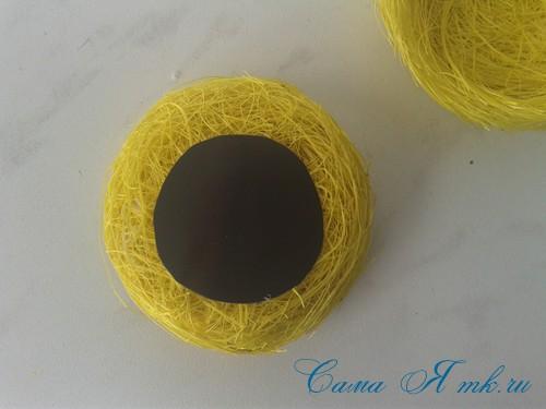гнезда гнездышки магниты из волокна сизаля своими руками 10
