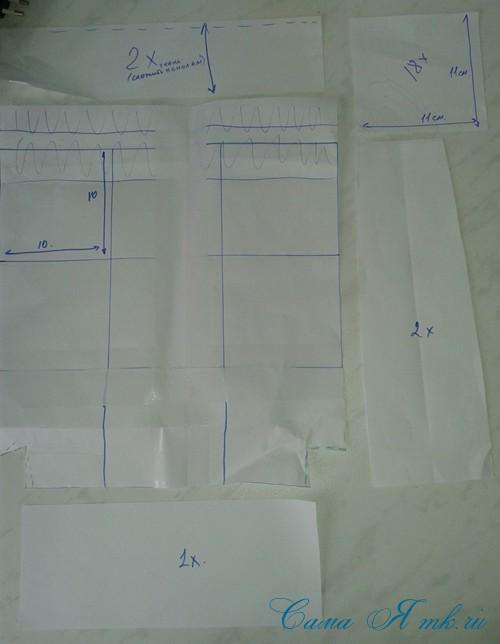 сумка из старых джинс джинсовой ткани схема мастер-класс мк своими руками 1а