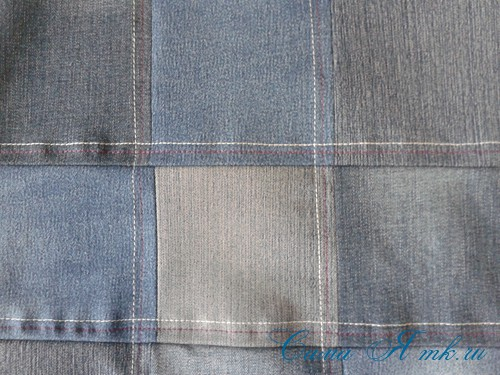 сумка из старых джинс джинсовой ткани схема мастер-класс мк своими руками 12
