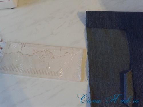 сумка из старых джинс джинсовой ткани схема мастер-класс мк своими руками 23