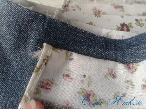 сумка из старых джинс джинсовой ткани схема мастер-класс мк своими руками 30