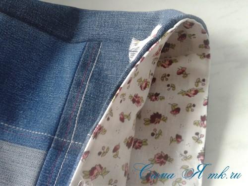 сумка из старых джинс джинсовой ткани схема мастер-класс мк своими руками 31