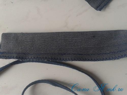 сумка из старых джинс джинсовой ткани схема мастер-класс мк своими руками 35
