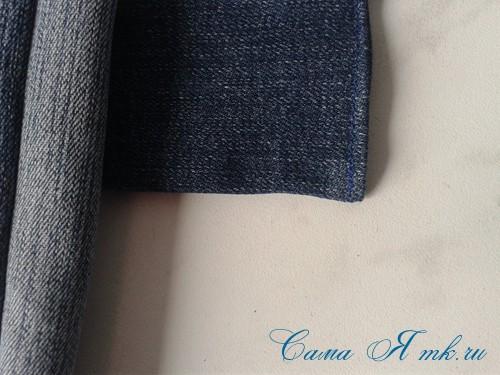 сумка из старых джинс джинсовой ткани схема мастер-класс мк своими руками 47