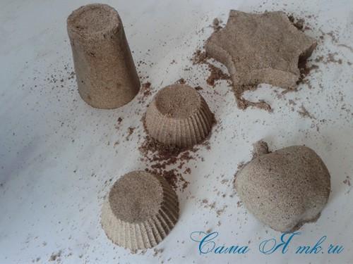 Кинетический чудо-песок своими руками состав и технология 6