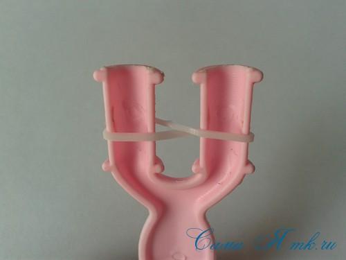 браслет из резинок на рогатке перекаты для начинающих 2