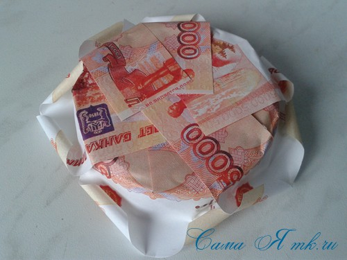 как оригинально подарить деньги на свадьбу денежная банка 6
