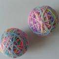 как сделать мячик-попрыгунчик из остатков резиночек 8