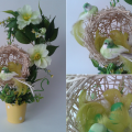 топиарий из палочек веток шпажек птичье гнездо гнездышко пошаговый мк с фото своими руками