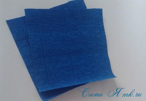 объемные ёлочки из гофрированной бумаги без конуса 2