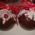 шоколадные ёлочные шары своими руками 18