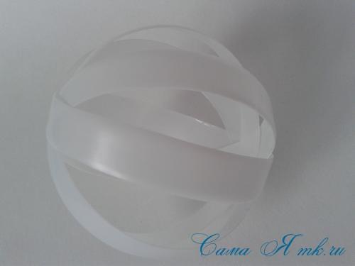 новогодние ёлочные шары из пластиковых бутылок своими руками 8