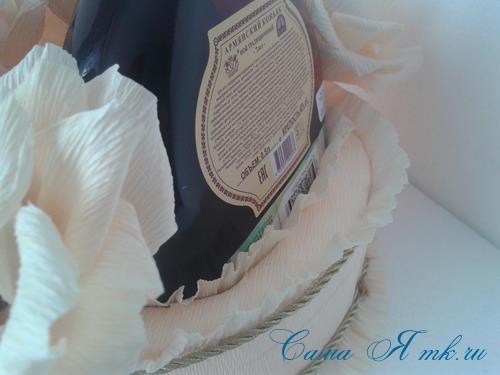 розы из гофро гофрированной бумаги с конфетами свит дизайн своими руками 21