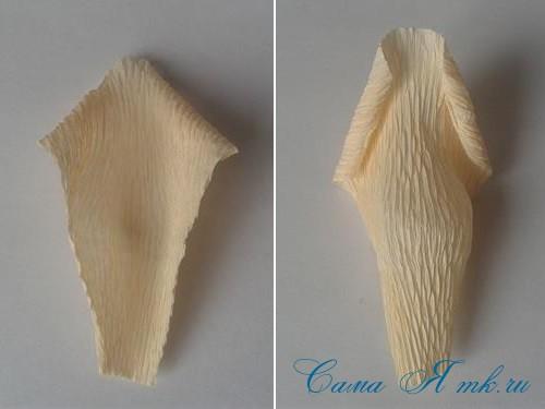 розы из гофро гофрированной бумаги с конфетами свит дизайн своими руками 6