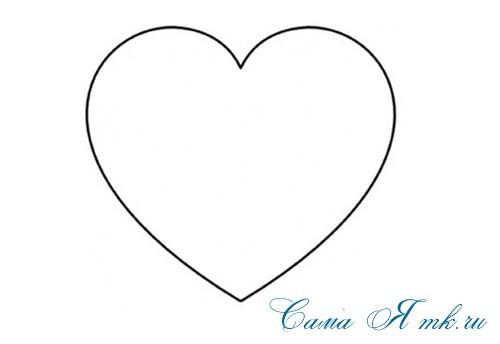 сердечки с пайетками в декоре своими руками шаблон сердца 1а