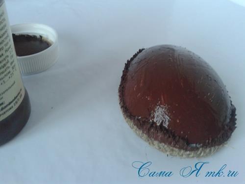 Кофейные магниты яички из зерен кофе на холодильник к Пасхе в форме яйца своими руками  11