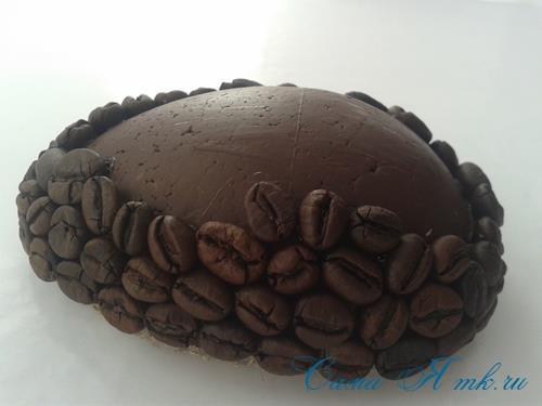 Кофейные магниты яички из зерен кофе на холодильник к Пасхе в форме яйца своими руками  14