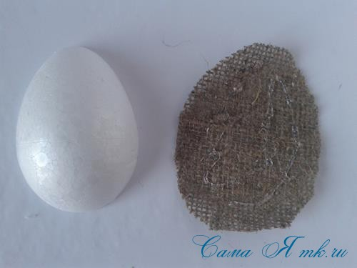 Кофейные магниты яички из зерен кофе на холодильник к Пасхе в форме яйца своими руками  5