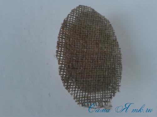 Кофейные магниты яички из зерен кофе на холодильник к Пасхе в форме яйца своими руками  6