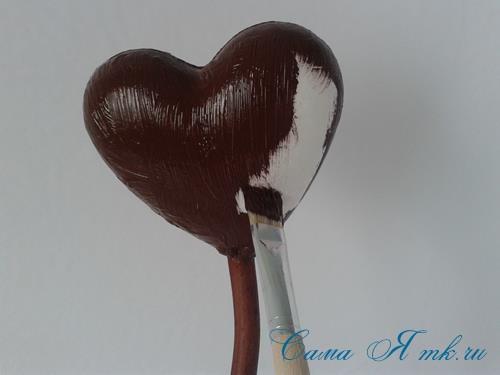 Топиарий из кофейных зёрен в форме сердца своими руками кофейное сердце из кофе 5