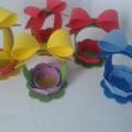пасхальная корзинка из фоамирана фома поделки и сувениры своими руками 27